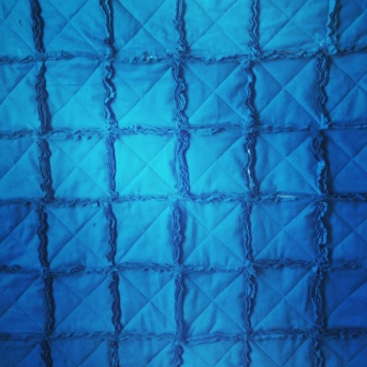 blue rag quilt