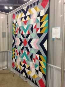 My photo of the quilter info for this quilt was blurry! If I can find it or you know who made it, please let me know.